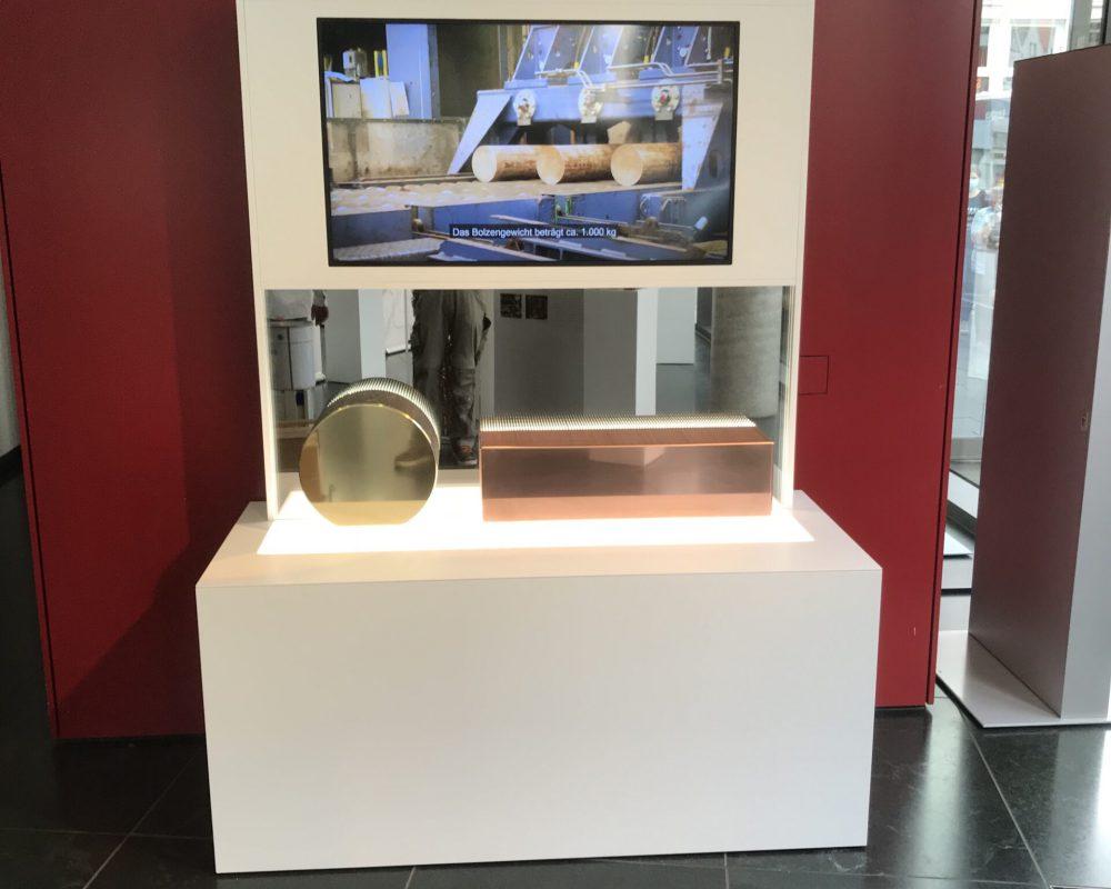 Schreinerei holzform Ausstellung Wieland Werke Exponate